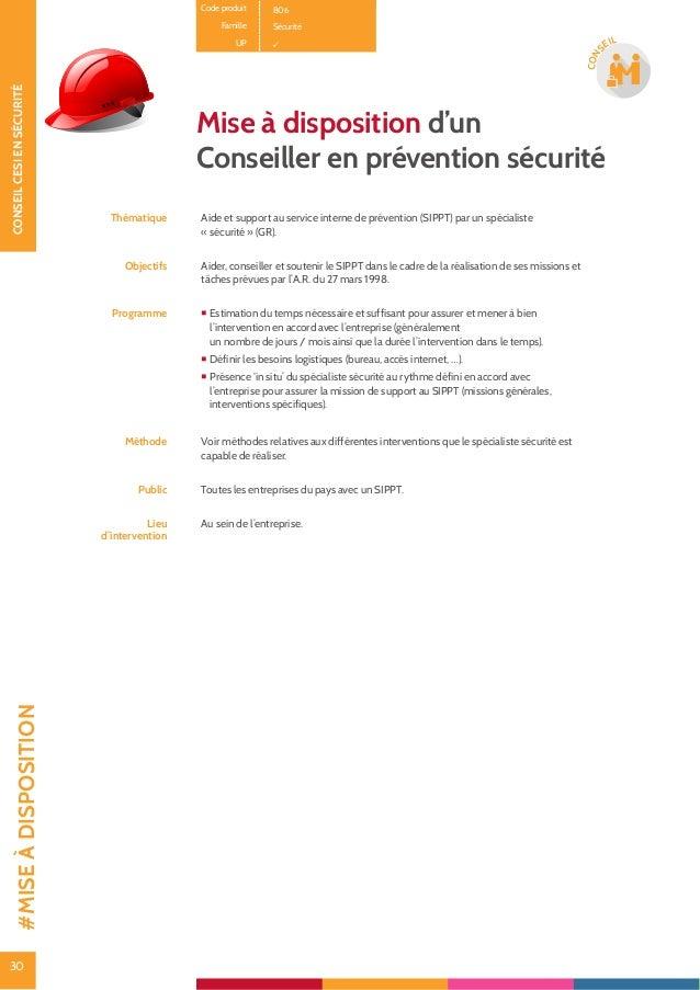 31 CONSEILCESIENSÉCURITÉ 31 CON SEIL Code produit B0101 Famille Sécurité UP Analyse des risques : la méthode ARIS© Thémati...