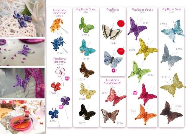Papillons diamant  Papillons Suzy 6CM  Papillons 7CM  Papillons strass 8CM  Papillons Nice 10CM  2.5CM  17245  0,10€  1727...