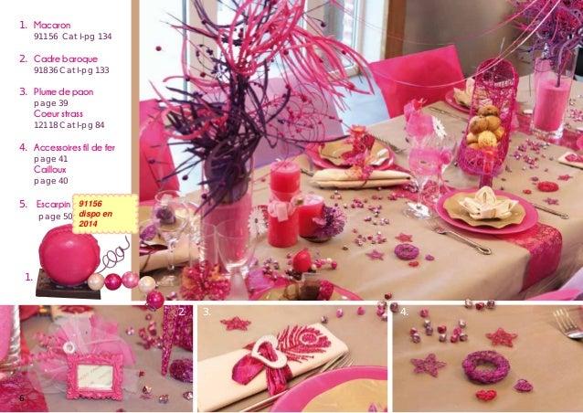 Catalogue Décoration de Table