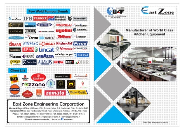 Industrial Ranges By East Zone Engg. Corporation