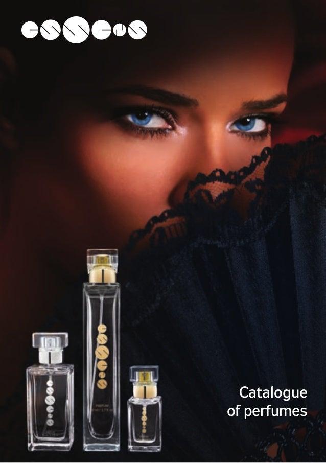 Catalogue of perfumes