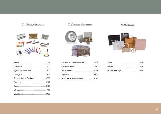 Catalogue cadeaux d'entreprise et objets publicitaires Slide 3