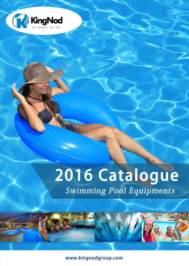 Swimming pool equipments Catalogue