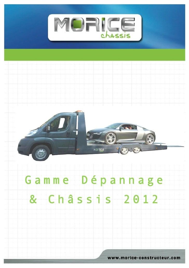Gamme   Dépannage&   Châssis     2012