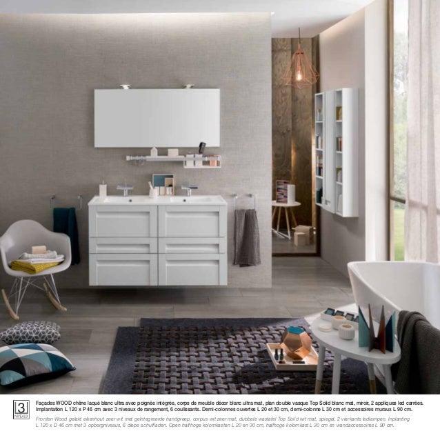 Catalogue meubles de salle de bains unique 2015 for Implantation salle de bain