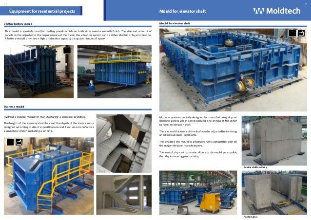 Catalogue Moulds For Precast Concrete Moldtech