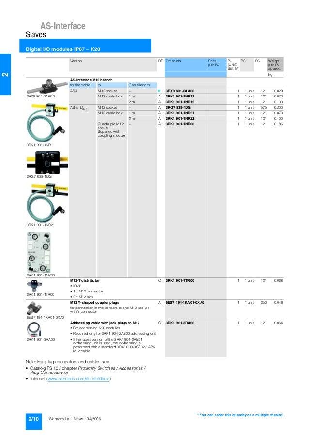 catalogue siemens 3 rf 3rw lv1 2006. Black Bedroom Furniture Sets. Home Design Ideas