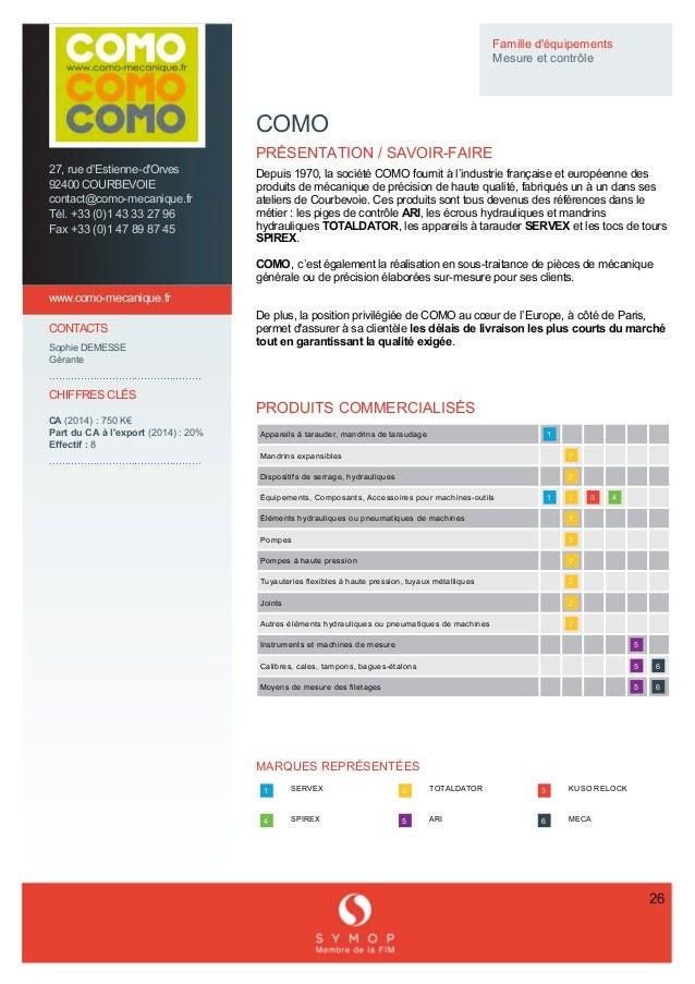 27,rued'Estienned'Orves 92400COURBEVOIE contact@comomecanique.fr Tél.+33(0)143332796 Fax+33(0)14...