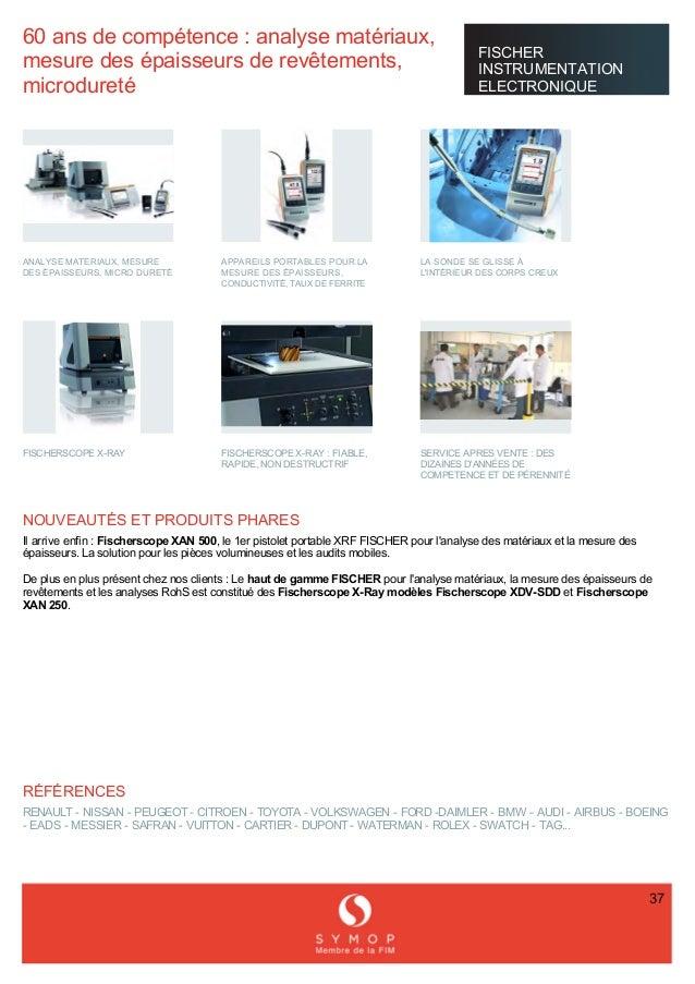 60ansdecompétence:analysematériaux, mesuredesépaisseursderevêtements, microdureté FISCHER INSTRUMENTAT...