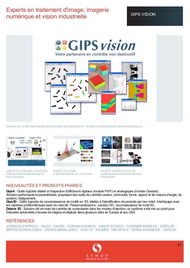 Expertsentraitementd'image,imagerie numériqueetvisionindustrielle GIPSVISION  GIPSVISION,VOTREPARTENAI...