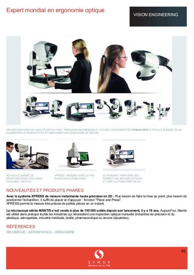 Offre en France dédiée aux secteurs Mesure, Vision et Contrôle (SIMODEC 2016)