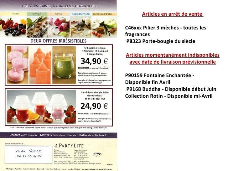 Articles en arrêt de vente  C46xxx Pilier 3 mèches - toutes les fragrances P8323 Porte-bougie du siècle Articles momentané...