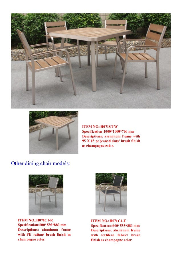7. Other dining chair ... - Catalogue2 Huayu Outdoor Furniture Supplier