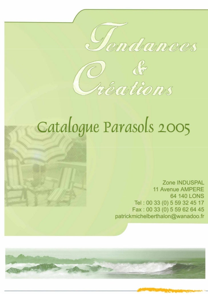Catalogue 2005 TetC