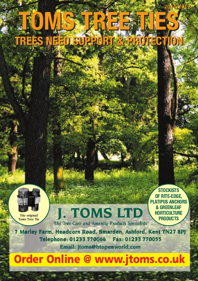 2011/2012 TOMS TREE TIESTREES NEED SUPPORT & PROTECTION                                                                   ...