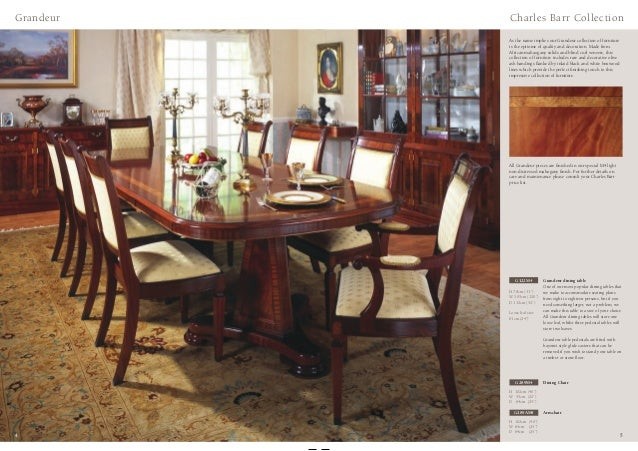 Charles barr furniture mahogany walnut collection for Furniture 80s band