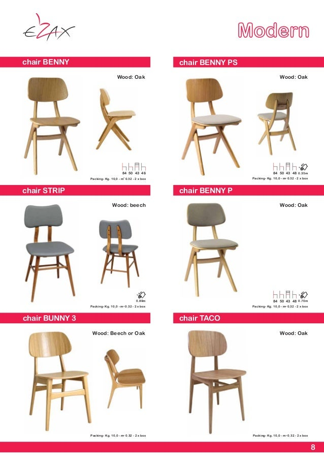 8  8 Modern. EZAX Contract Furniture Manufacturer Catalogue 2017
