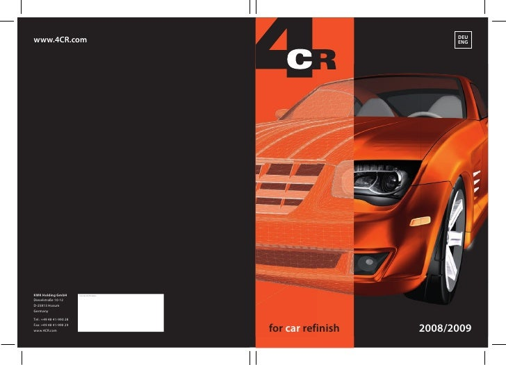 Catalogue 4CR 2010 eng