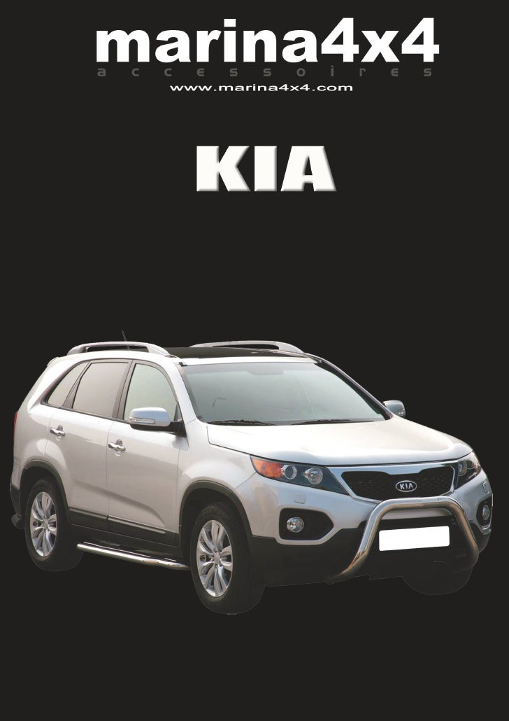 KIA SORENTO            MEDIUM BAR INOX Ø 63                    HOMOLOGUE CE            2006/2009 Réf : ECMED188           ...