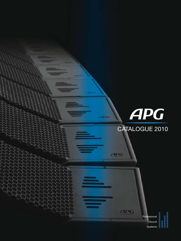 CATALOGUE 2010           Professional             Sound           Systems