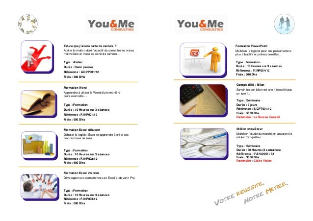 Catalogue ateliers, formations & séminaires you & me consulting 2012 Slide 3