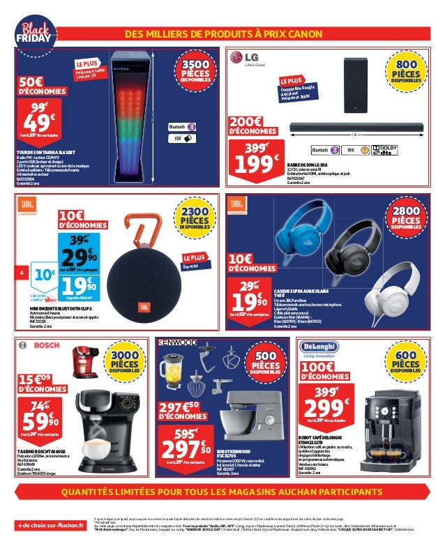 Catalogue Auchan Black Friday
