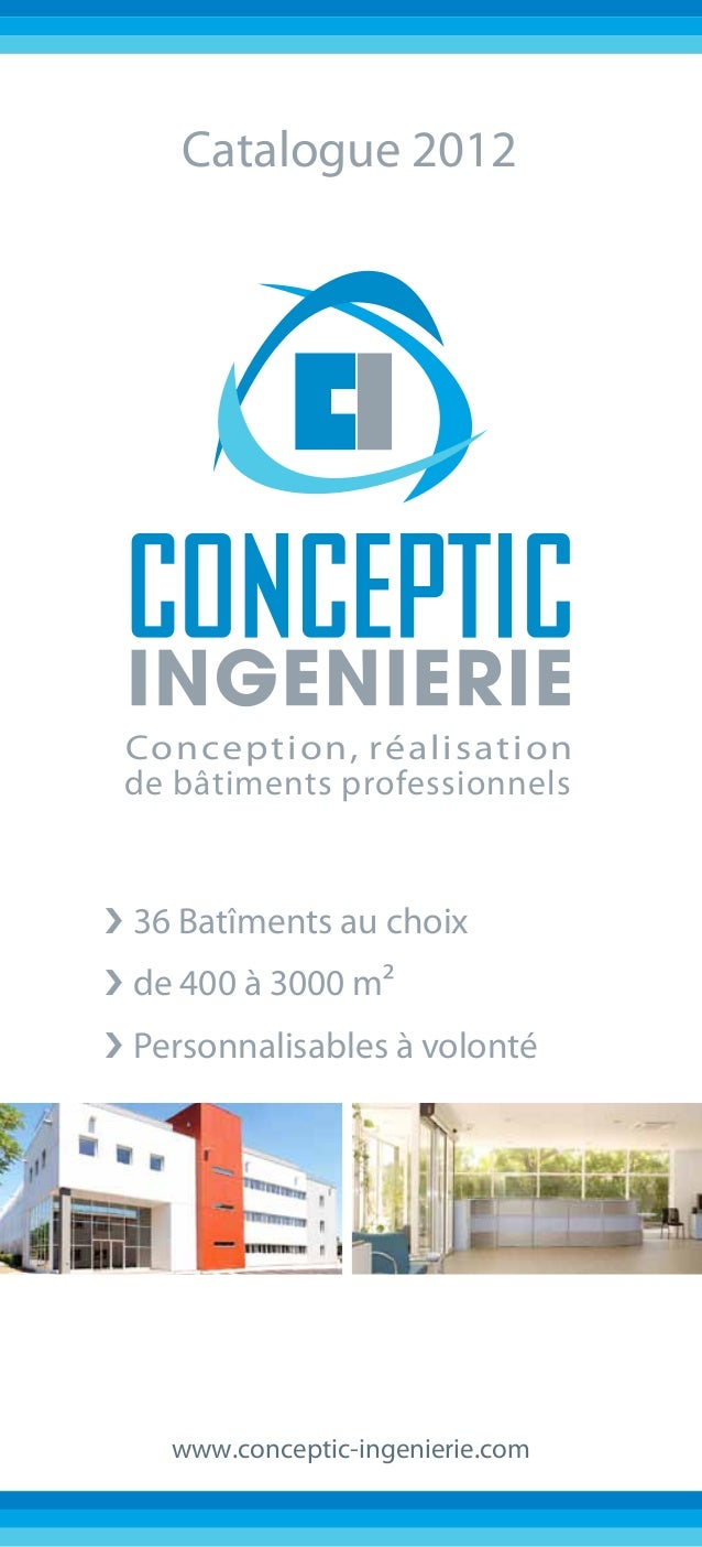 Catalogue Bâtiments standardisés Conceptic Ingénierie