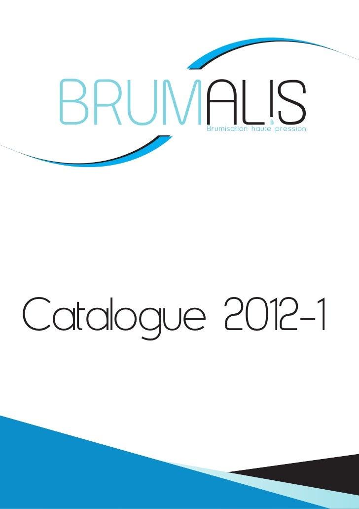 Catalogue 2012-1           Tarifs