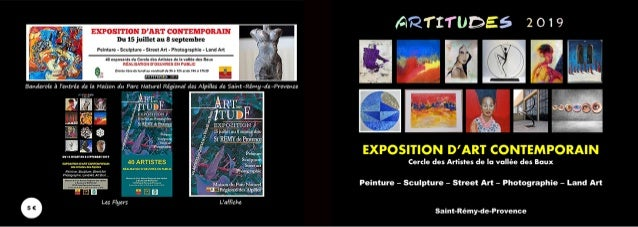 LISTE DES MEMBRES DU CERCLE DES ARTISTES DE LA VALLÉE DES BAUX B.A 3 BARRE Florence 7 BONNEAU Dominique 11 BROUSSE Nicole ...