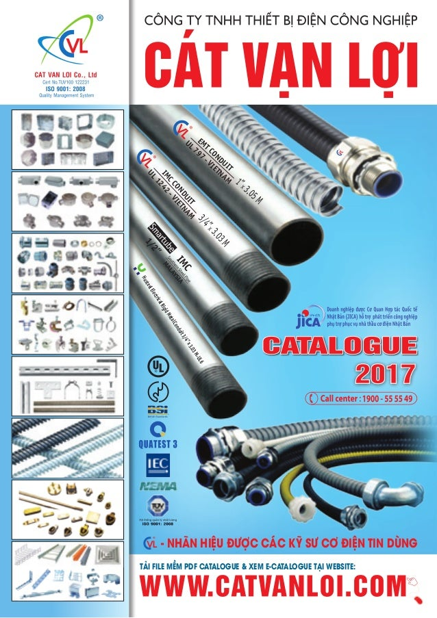 Catalogue Cat Van Loi Steel Conduit Steel Pipe Flexible