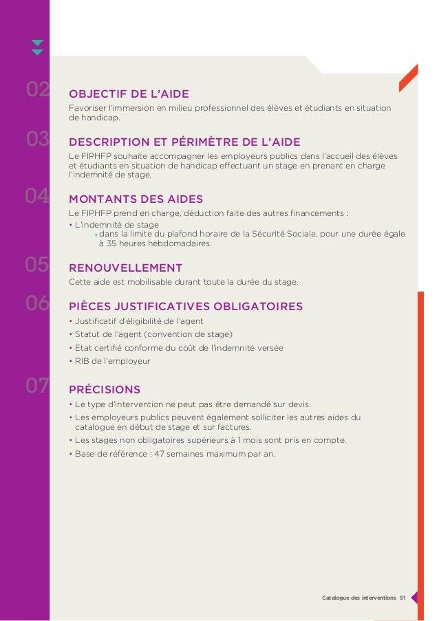 Catalogue des interventions fiphfp - Plafond horaire de la securite sociale ...