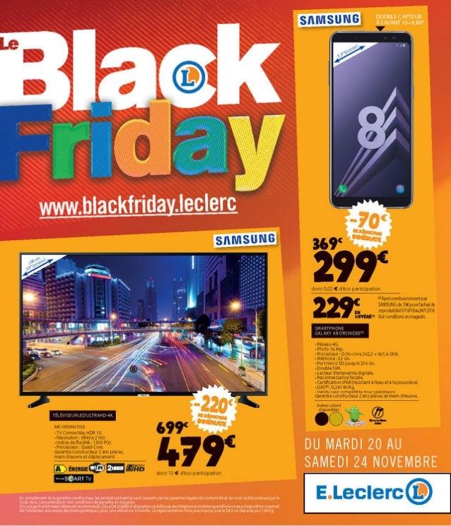 Catalogue E Leclerc Black Friday Monsieurechantillons Com