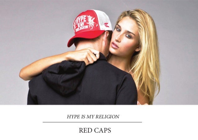 HYPE IS MY RELIGION    RED CAPS