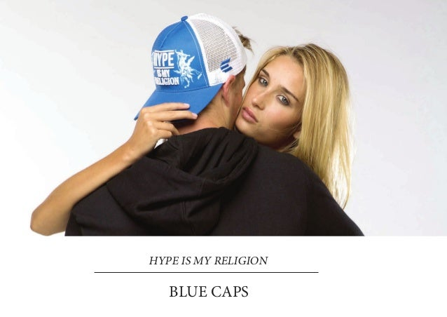 HYPE IS MY RELIGION   BLUE CAPS