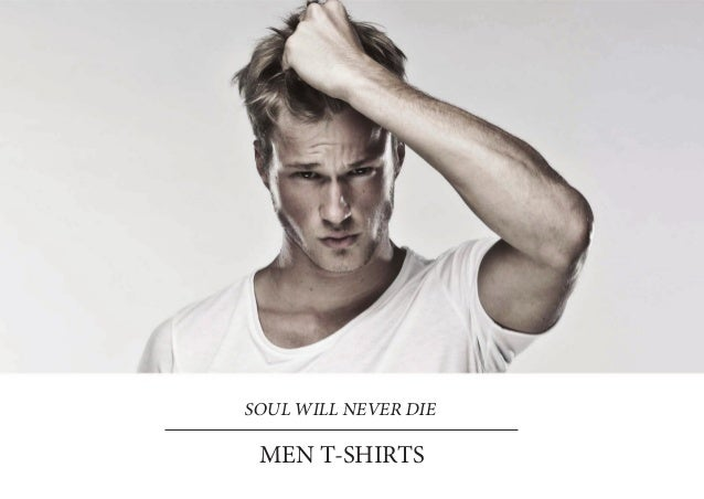 SOUL WILL NEVER DIE MEN T-SHIRTS