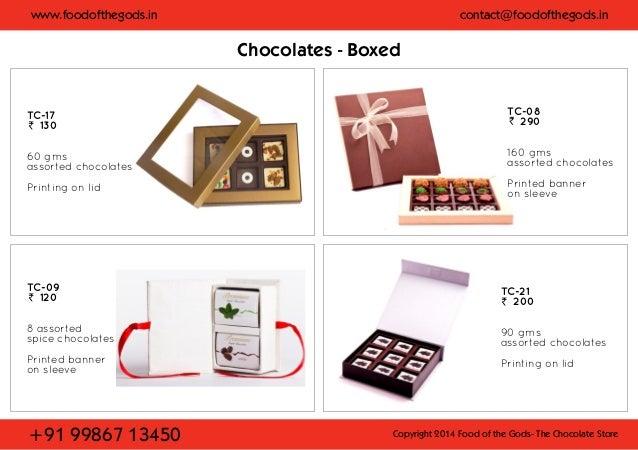 CHOCOLATE CATALOGUE EBOOK DOWNLOAD