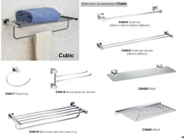 Catalogue for australia showers and bathroom accessories for Bathroom accessories australia