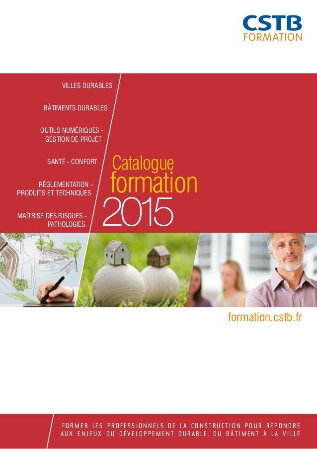VILLES DURABLES  BÂTIMENTS DURABLES  OUTILS NUMÉRIQUES -  GESTION DE PROJET  SANTÉ - CONFORT  RÉGLEMENTATION -  PRODUITS E...
