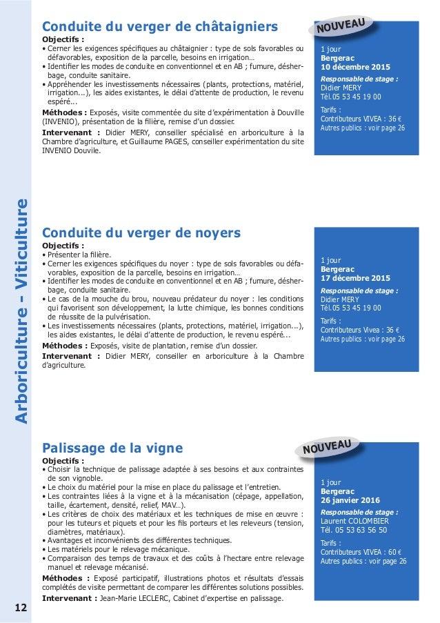 Catalogue Formation Des Professionnels Agricoles De Dordogne