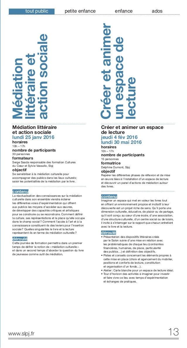 14 Sensibiliser lesparents auxlivres dejeunesse www.slpj.fr Sensibiliser les parents aux livres de jeunesse mardi 26 janv ...