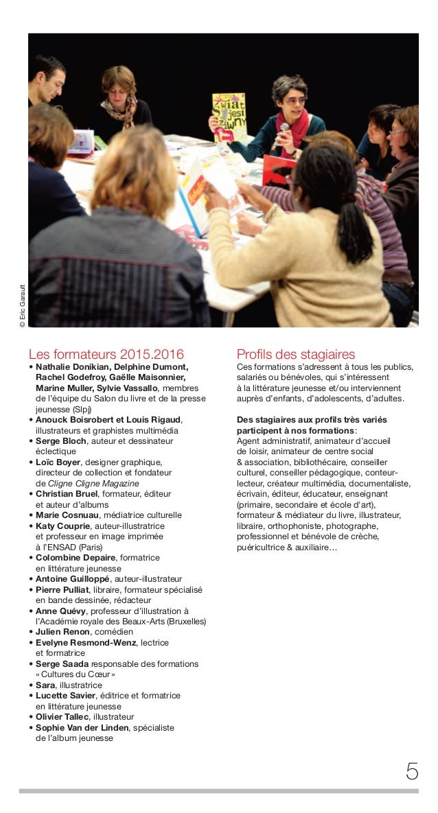 6 www.slpj.fr activités de conseils L'École peut accompagner la mise en place de projets artistiques, culturels et de médi...
