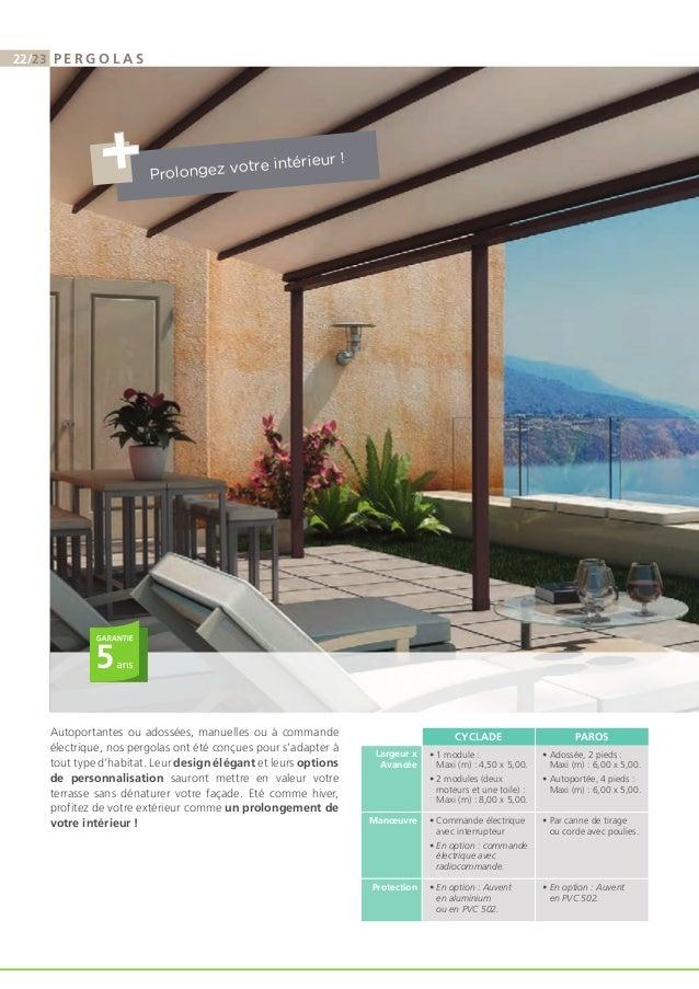 Catalogue Franciaflex  Stores Extrieurs