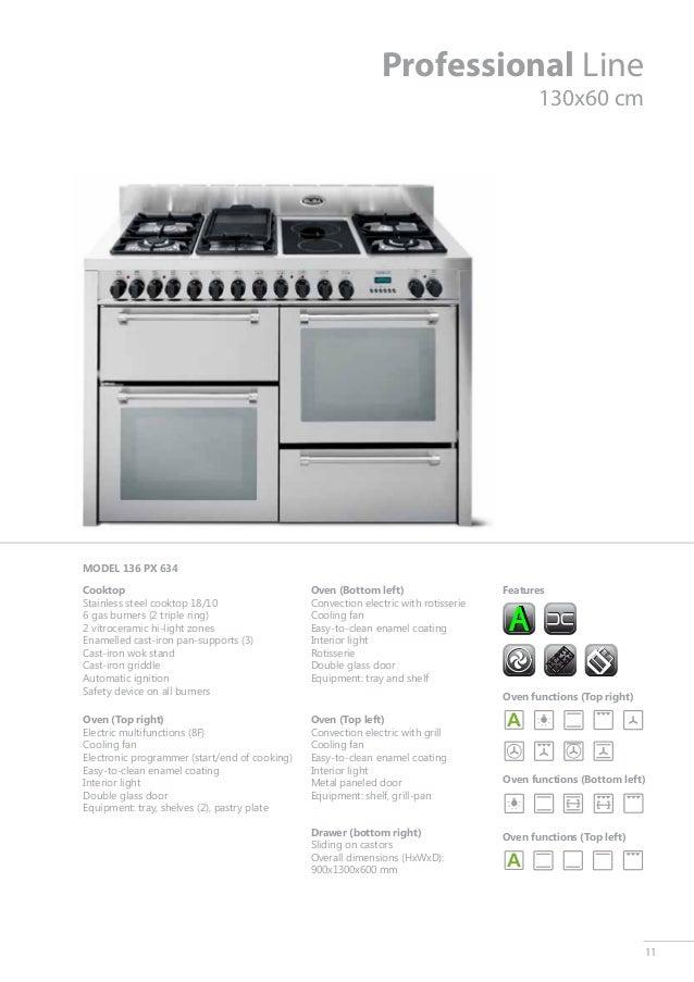Catalogue Free Standing Cookers Catalogo Cocinas Catalogo Cucine