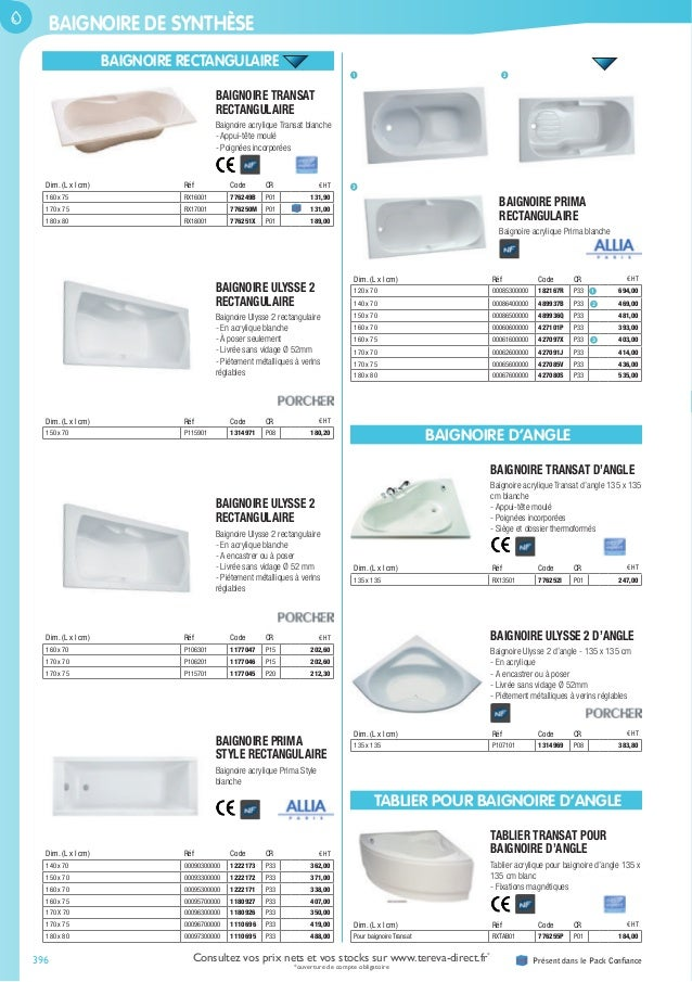notre catalogue g n ral 2016 sanitaire. Black Bedroom Furniture Sets. Home Design Ideas