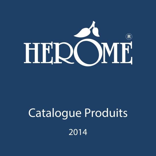 Catalogue herôme 2014
