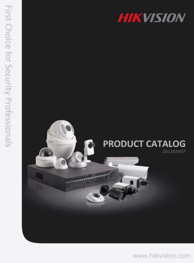 Catalogue Hikvision