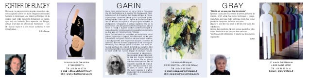 FORTIER DE BUNCEY                                                                                                  GARIN  ...