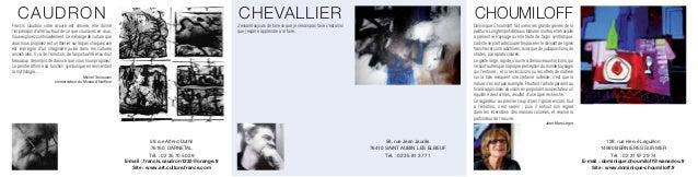 CAUDRON                                                                                                  CHEVALLIER       ...