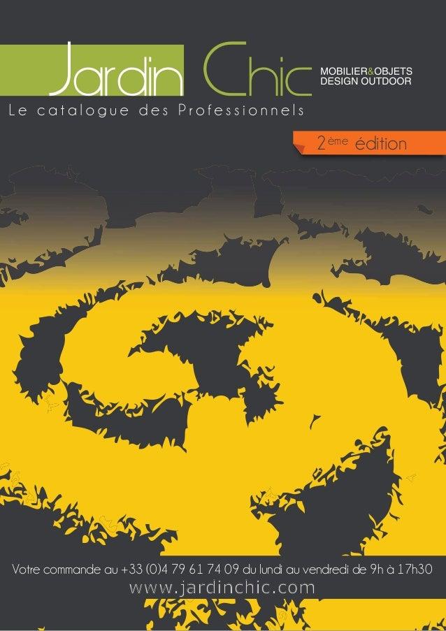 Édito Jardin en Pots ème 2ème édition  Votre commande au +33 (0)4 79 61 74 09 du lundi au vendredi de 9h à 17h30  www.jard...