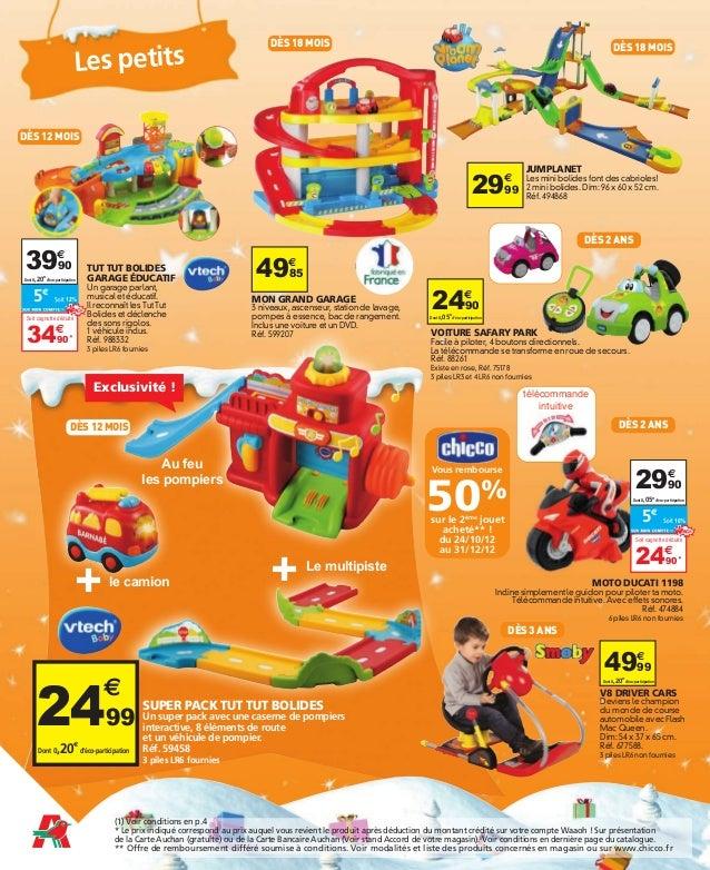 Catalogue Jouets Auchan 2012